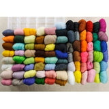 36 Mixed Colors Wool Fiber Roving For Needle Felting
