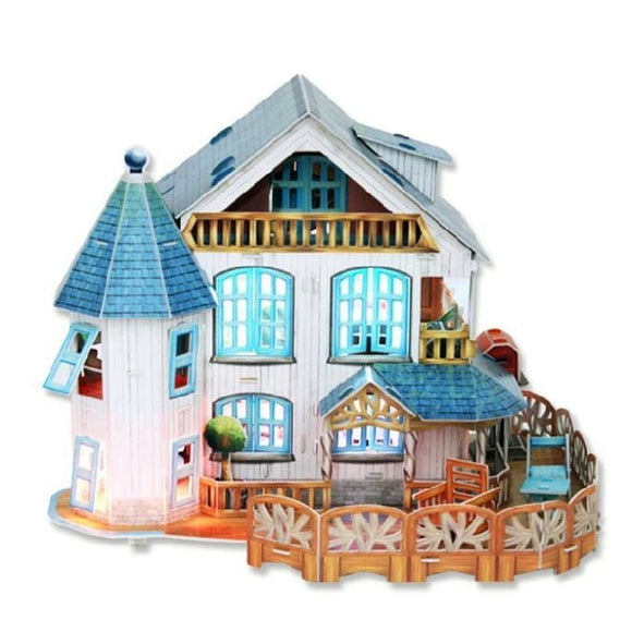 3D Luminous Idyllic Small Villa Puzzle