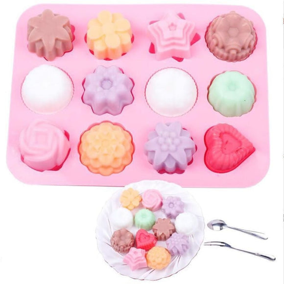 3D Silicone Mini Cake Mold