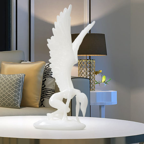 Abstract Angel Statue Art Sculpture