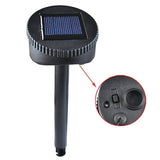 Acrylic Solar Power Tall Bubble Light Set