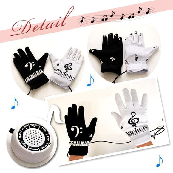 Air Piano Finger Music Glove Great Party Fun