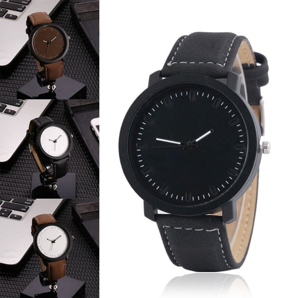 Analog Round Digital Casual Watch