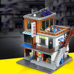 Asian Market Building Blocks Set
