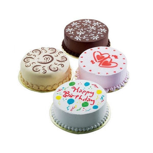 Beautiful 4 Piece Silicone Cake Stencils
