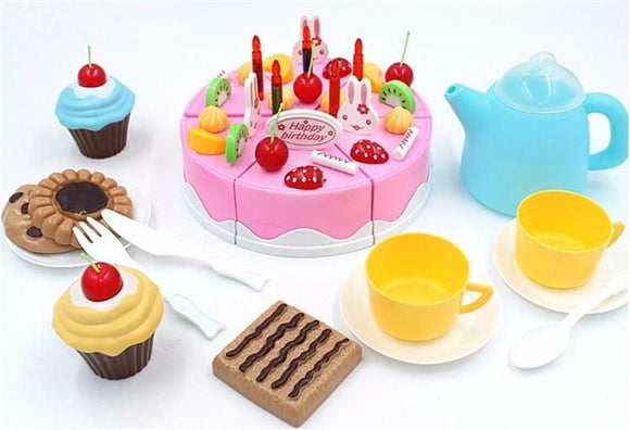 Birthday Party Play Set - Pink
