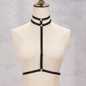 Body Harness Cage Bra