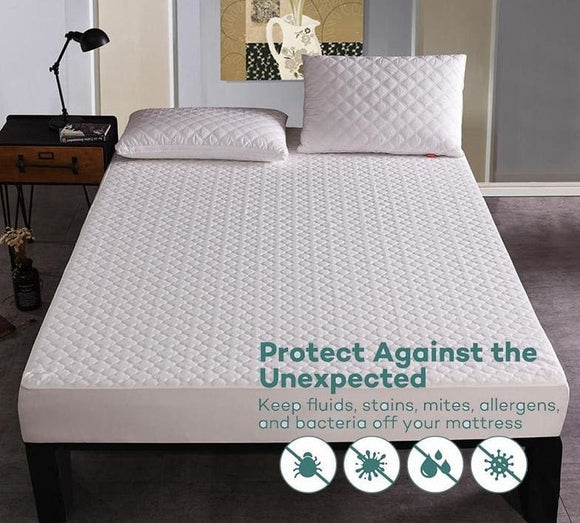 Breathable and Waterproof Full Mattress Protector - 200x80cm / China