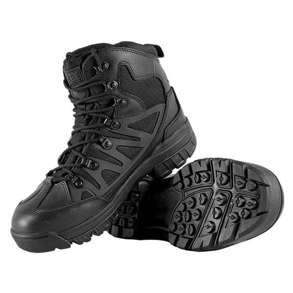 Breathable Leather Outdoor Hiking Shoes - Black(Cortex) / 11 / China