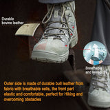 Breathable Leather Outdoor Hiking Shoes
