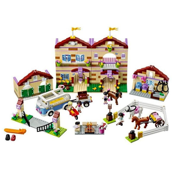 Busy Farm Building Blocks Set