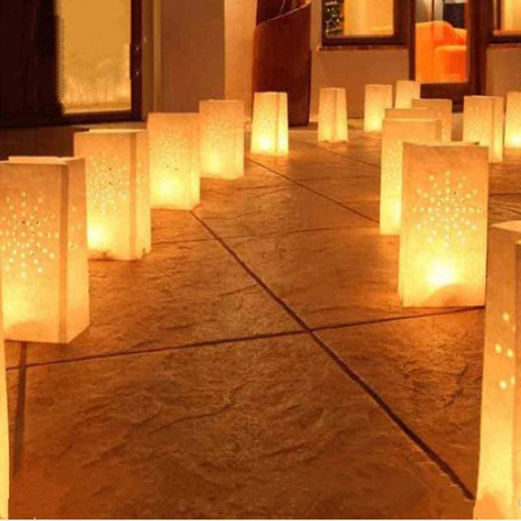 Candle Light Paper Bag x 5