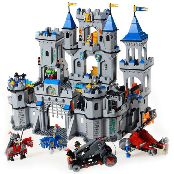 Castle and Knights Building Blocks Set - QM1017-N