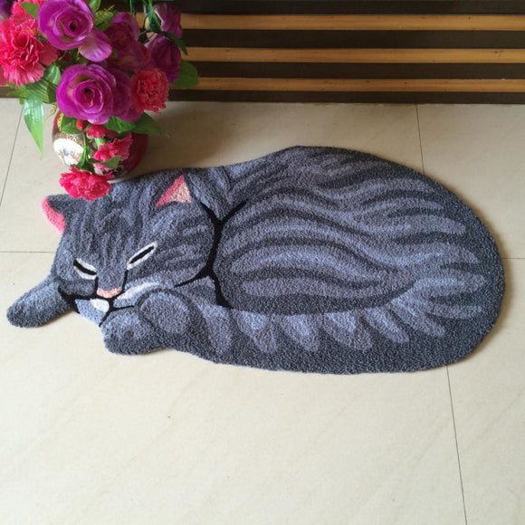 Cat Shape Non-Slip Rug