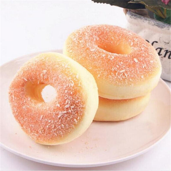 Children Squishy Donuts or Bagel Pretend Food