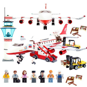 City Aviation Building Block Sets