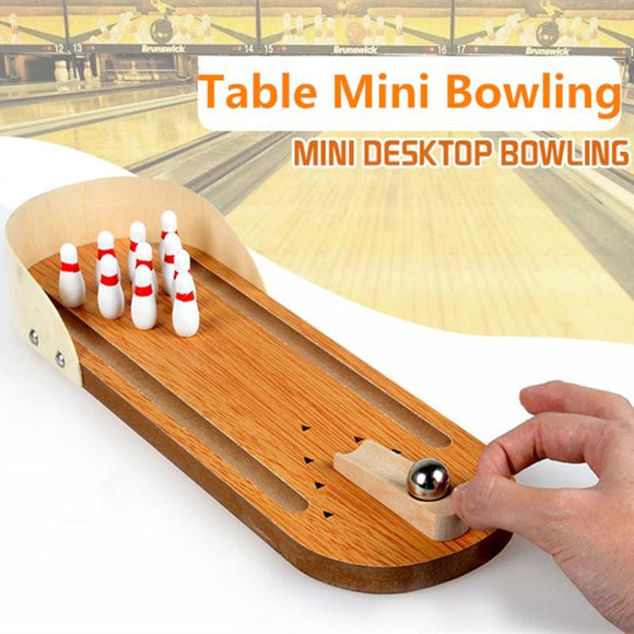 Classic Mini Desktop Bowling Game