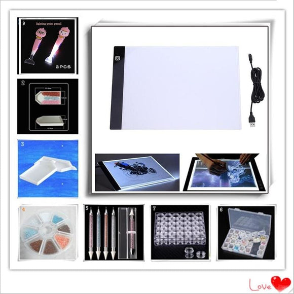Diamond Mosaic Painting Tools