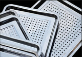 Double Layer Stainless Steel Tray