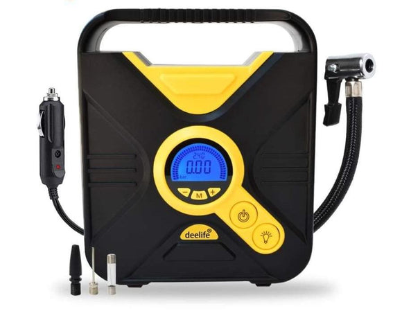 Electric Portable Air Compressor With Preset Pressure Auto Stop