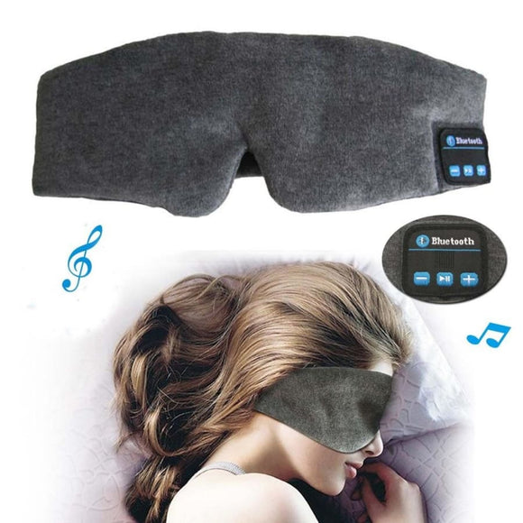 Eye Mask With Wireless Bluetooth 3.0 Stereo Sleeping Music