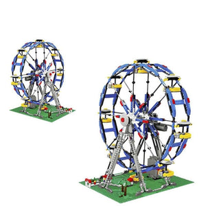 Ferris Wheel Model Building Blocks Set