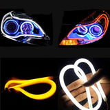 Flexible Car Led Soft Tube Decorative External Light X 2