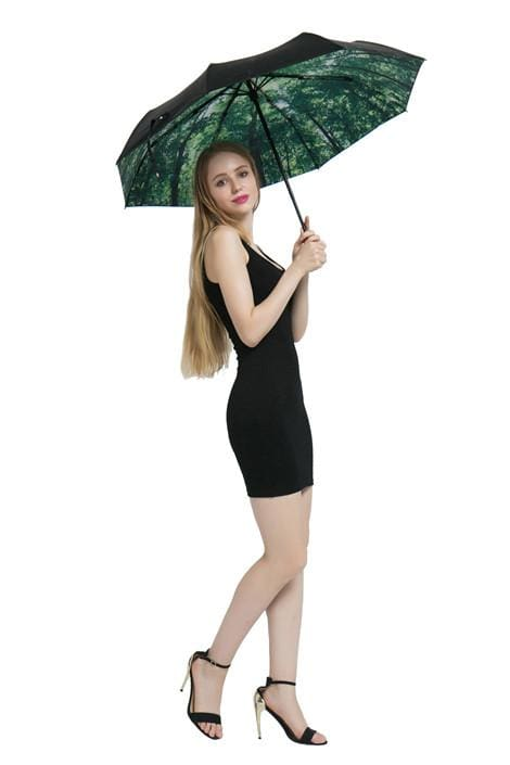 Forest Walk Folding Umbrella