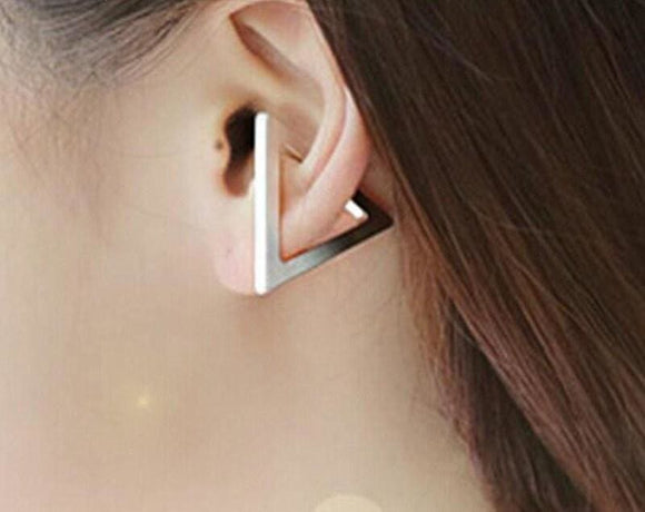 Geometric Triangle Ear Clip