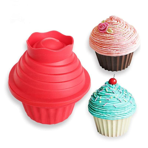 Giant Big Top Silicone Cupcake Mold