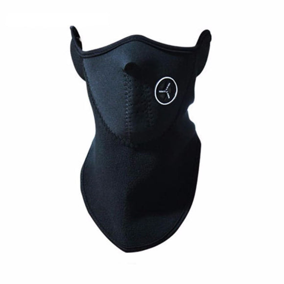 Half Face Mask Cover - Black
