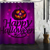 Halloween Shower Curtain - Chocolate / 72X72Inch