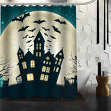Halloween Shower Curtain - Dark Gray / 72X72Inch