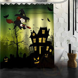 Halloween Shower Curtain - Multi / 72X72Inch