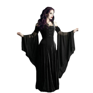 Halloween Vampire Victorian Dress