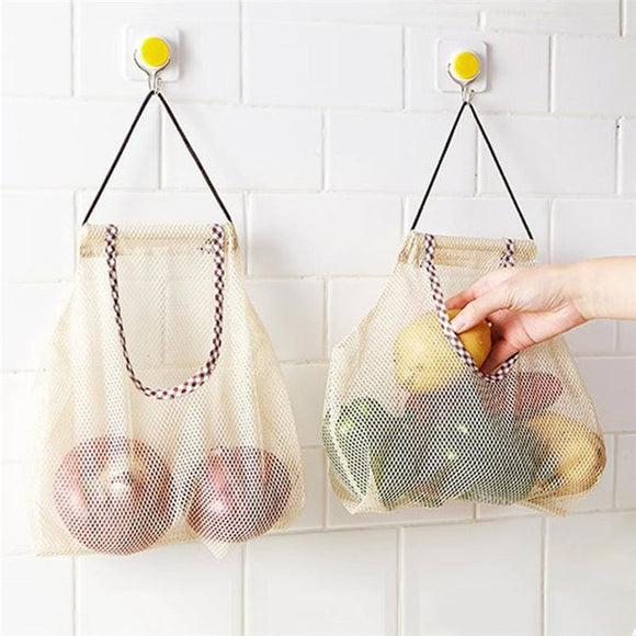Hanging Fruit And Vegetable Storage Mesh Bag