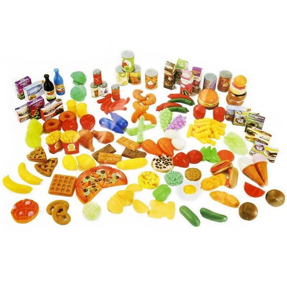 Kitchen Fun 150 Fruits Vegetables Food Set - China