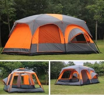 Large Luxury Two Bedroom Outdoor Camping Tent