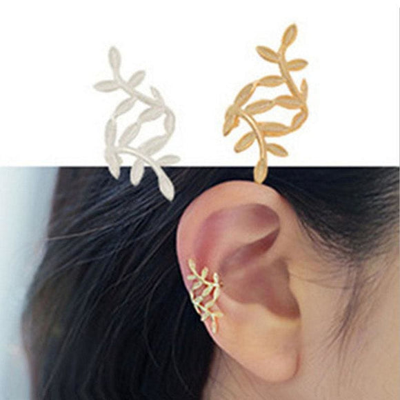 Leaf and Other Style Ear Cuffs