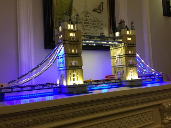 Led Light Kit For London Bridge Building Blocks Set