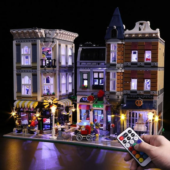 Led Light Set For Assembly Square Building Blocks - Rgb And Led Lights