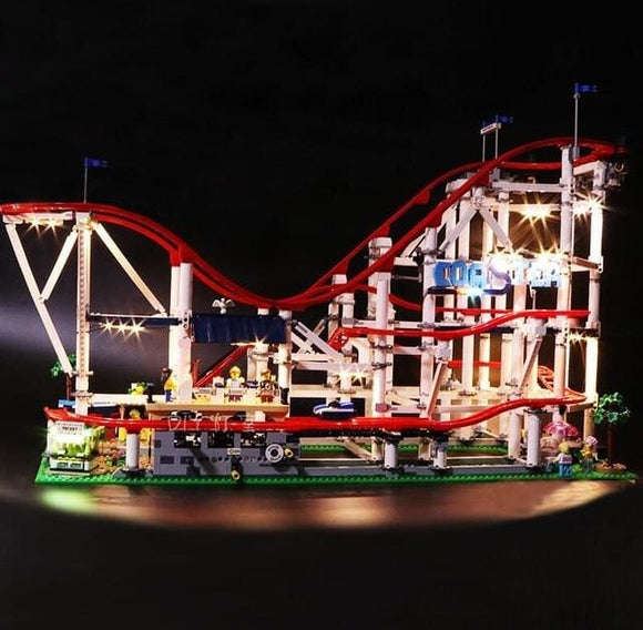 Led Light Set For The Roller Coaster - A Basic Version