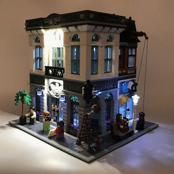LED Light Up Kit - Brick Bank Building Block Set
