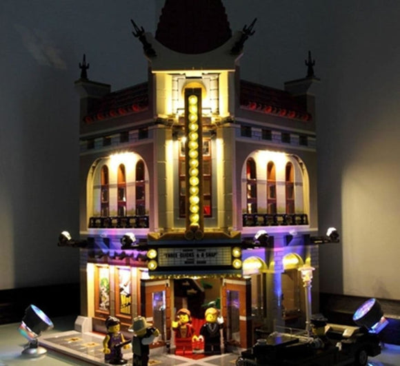 Led Light Up Kit For Palace Cinema Building Block Sets