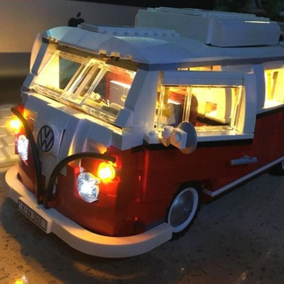 LED Light Up Kit - VW Van Building Blocks Sets