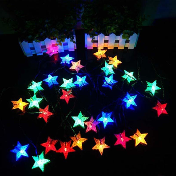 LED Mini Star Light String - Blue