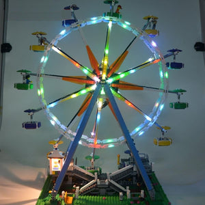 Light Up Kit for City Street Ferris Wheel - Only Central Part