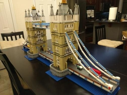 London Bridge Building Blocks Set