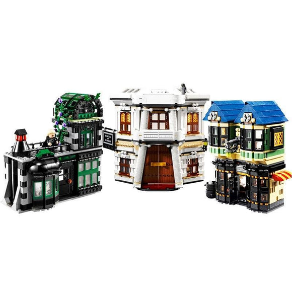 Magic Alley Set Building Blocks Set