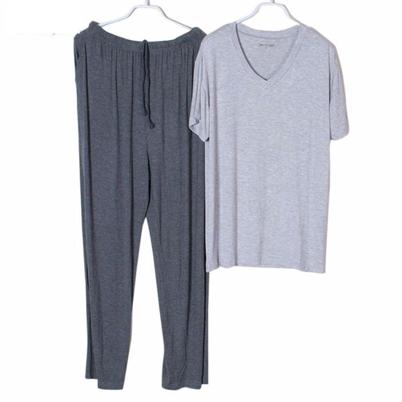 Mens T-Shirt & Pant Sleepwear - 5 / Xl